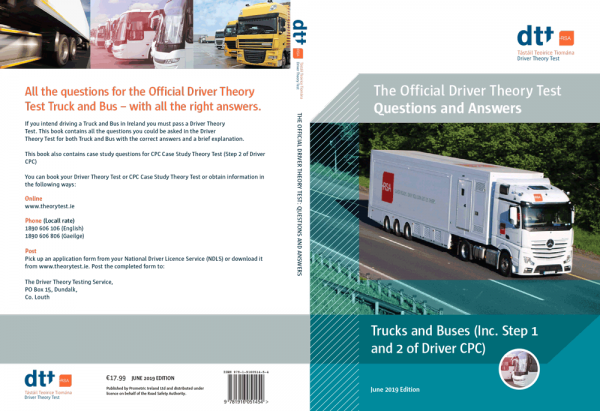 The Official Driver Theory Test Questions and Answers: Trucks & Buses (inc. Step 1 & Step 2 of Driver CPC) June 2019 Edition
